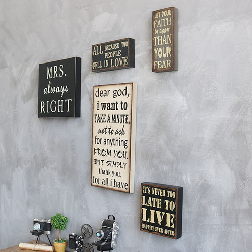 Decorative Wall Painting (Quotes)