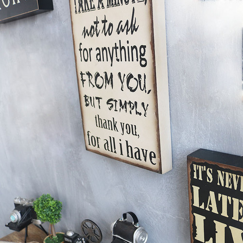 Decorative Wall Painting (Quotes