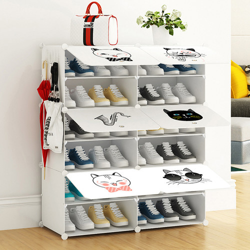 Resin Sheet Shoes Organizer 85 x 32 x 96cm