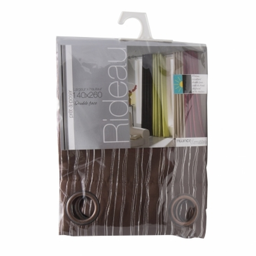 BoLan Curtain HT-Chocolate 140cm x 260cm