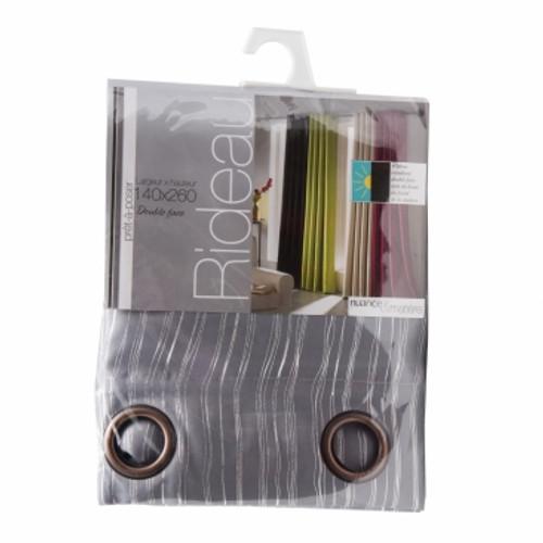 BoLan Curtain HT-Grey 140cm x 260cm