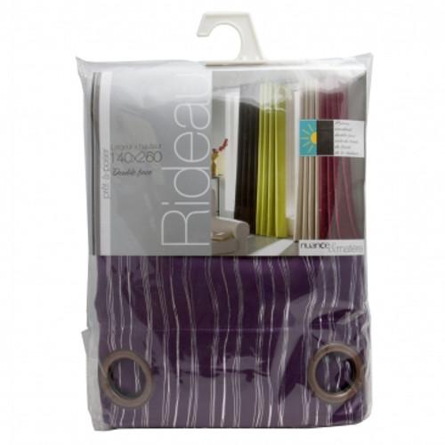 BoLan Curtain HT-Purple 140cm x 260cm