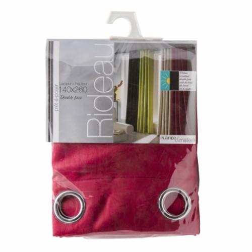 BoLan Curtain BOC-Rose Red 140cm x 260cm