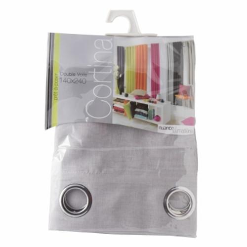 BoLan Curtain Single Sheet - Grey 140cm x 240cm