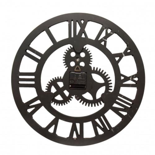 """Wall Clock """"Classic Roman"""" Gold JD-0452 45cm"""