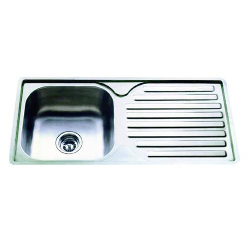 "S/S Sink (1-Bowl) 38"" x 17"" GH09643"