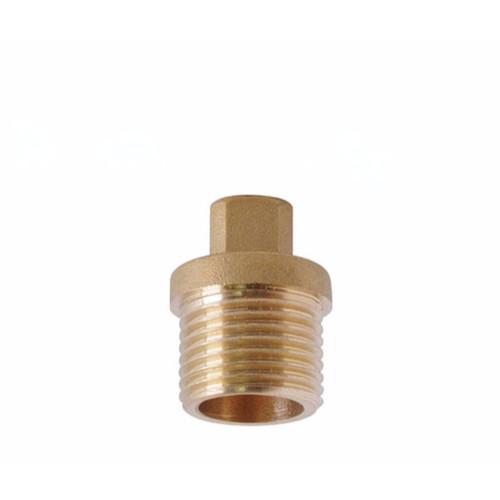 """Showy Brass Plug 1/2"""" #5195"""