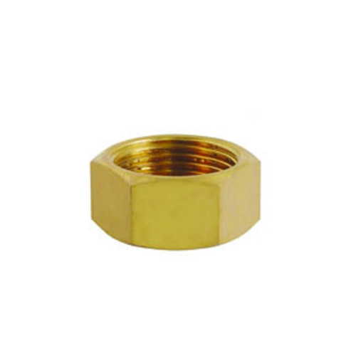 "Showy F-Brass Screw Cap 1/2"" #5196"