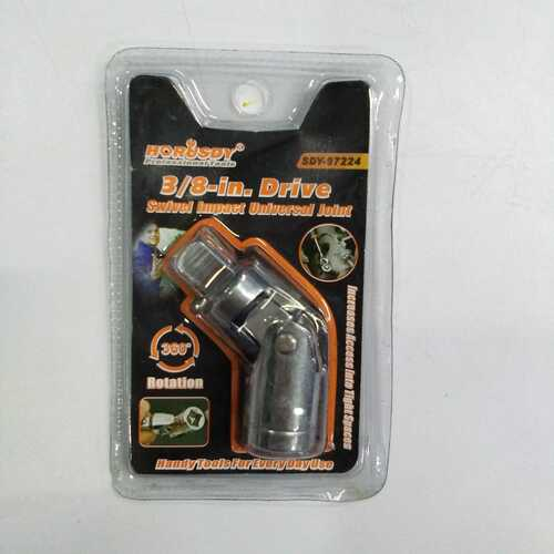 """Horusdy universal joint socket 3/8"""" drive in SDY-97224"""
