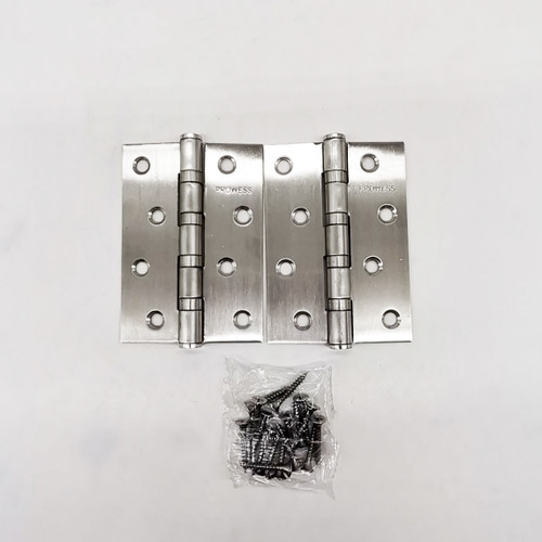 "MHD s/s hinges 4"" x 3"" x 2mm"
