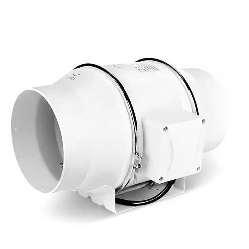 Ceiling Exhaust Fan(White) 100mm + 2M Aluminium Hose