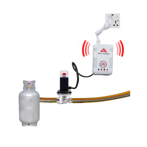 Smart Gas Controller (Gas Cylinder Use)