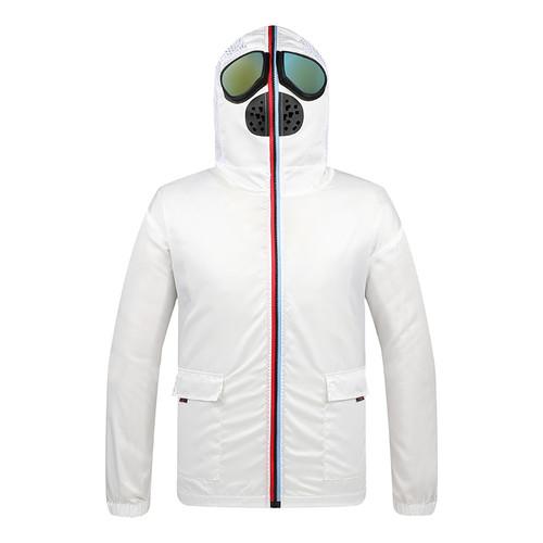 Face protective suit