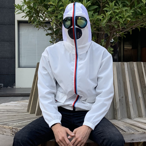 Face protective jacket