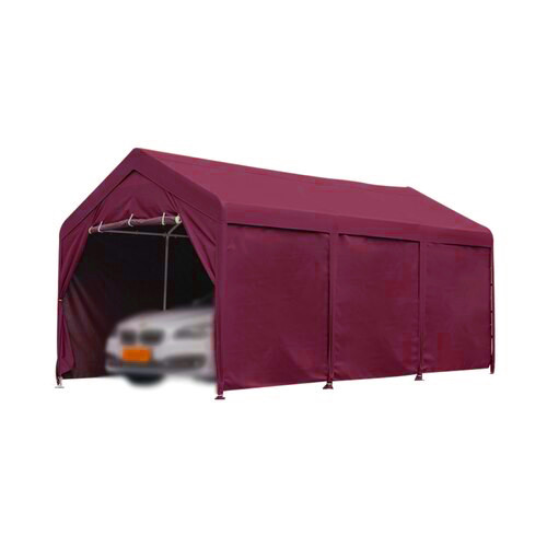 Osbuku car parking shed (Maroon)