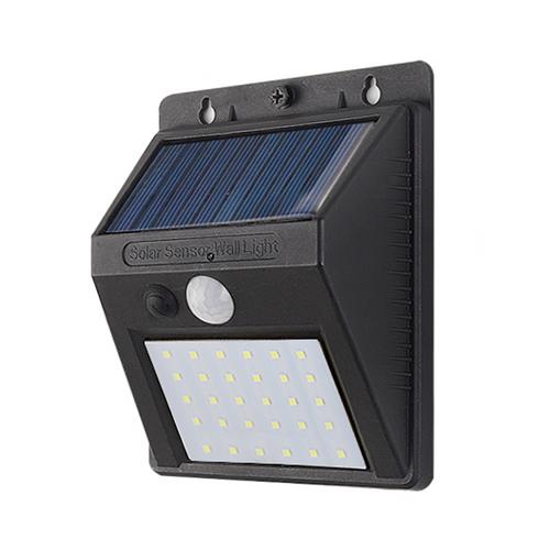 40w 30 LED solar wall light