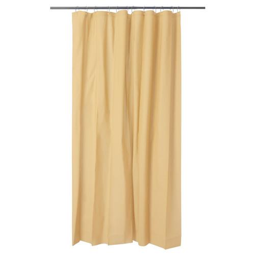 IKEA OLEBY shower curtain - yellow