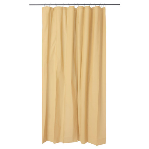 IKEA OLEBY shower curtain - yellow