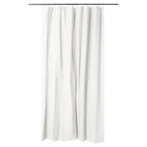 IKEA OLEBY shower curtain - white