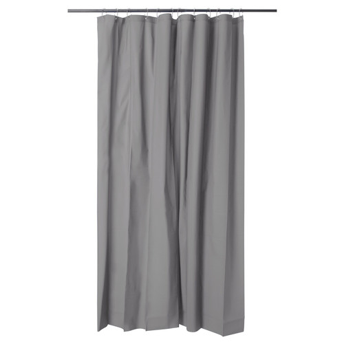 IKEA OLEBY shower curtain - grey