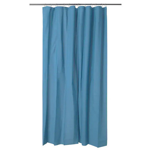 IKEA OLEBY shower curtain - dark blue