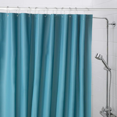 IKEA OLEBY shower curtain - dark blue