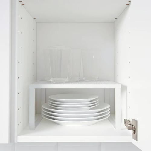 IKEA VARIERA Shelf insert, white, 32x28x16 cm