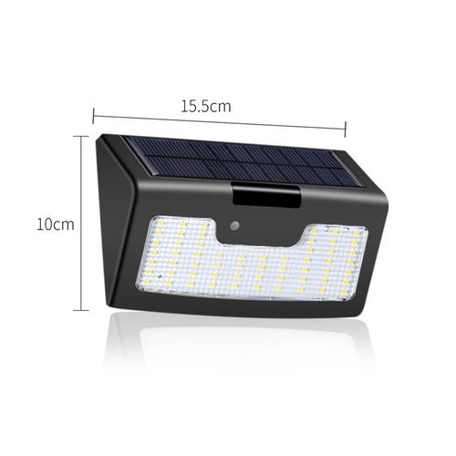 58 LED solar wall light