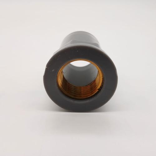 "Female Pvc Socket 3/4"" With Brass Thread"