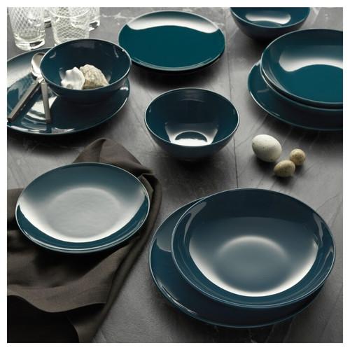 IKEA FÄRGRIK Bowl, dark turquoise, 16 cm
