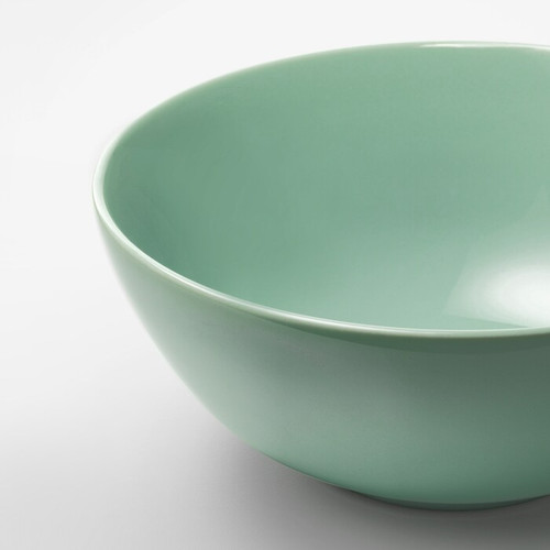 IKEA FÄRGRIK Bowl, light green, 16 cm