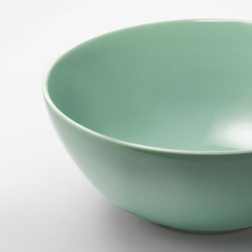 IKEA FÄRGRIK Bowl, light green, 16 cm