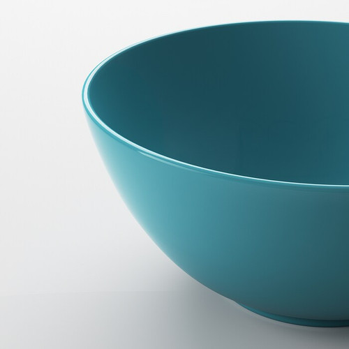 IKEA FÄRGRIK Bowl, turquoise, 16 cm