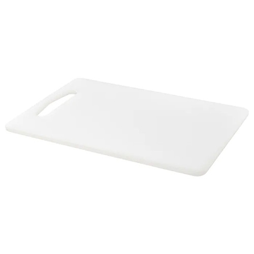IKEA LEGITIM Chopping board, white, 34x24 cm
