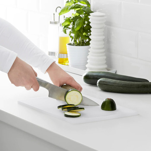 IKEA LEGITIM Chopping board, white, 34x24 cm