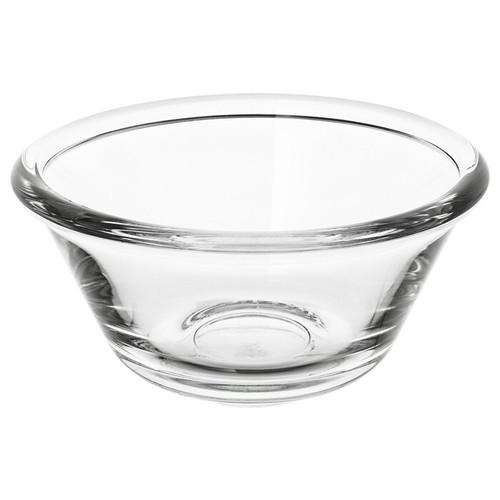 IKEA VARDAGEN Bowl, clear glass, 12 cm