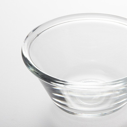 IKEA VARDAGEN Bowl, clear glass, 12 cm