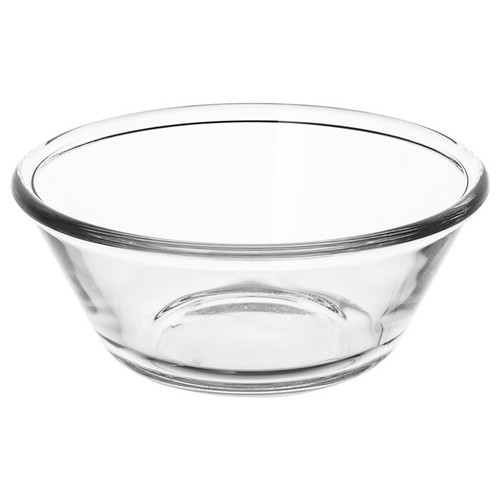 IKEA VARDAGEN Bowl, clear glass, 15 cm
