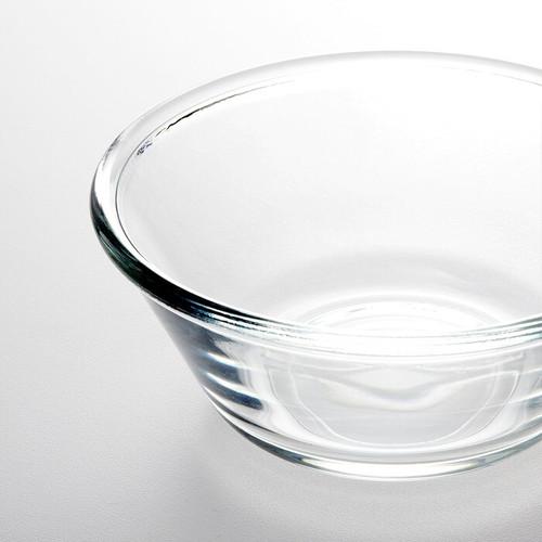 IKEA VARDAGEN Bowl, clear glass, 15 cm