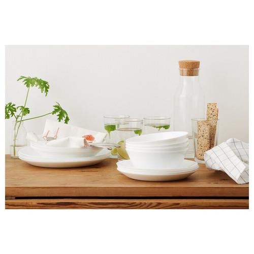 IKEA OFTAST Bowl, white, 15 cm
