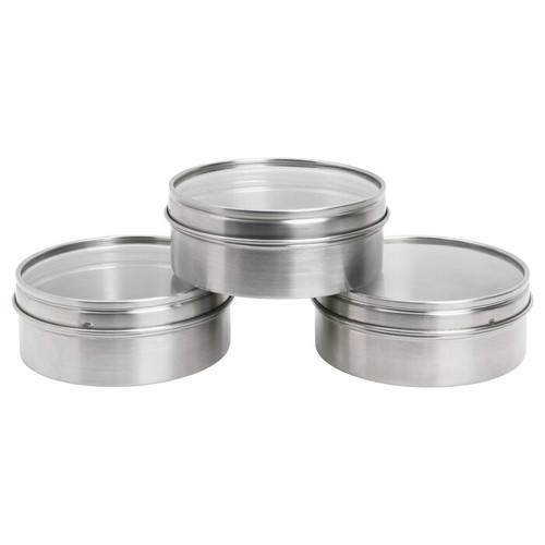 IKEA GRUNDTAL Container, stainless steel, 10 cm