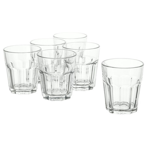 IKEA POKAL Glass, clear glass, 27 cl