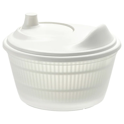 IKEA TOKIG Salad spinner, white