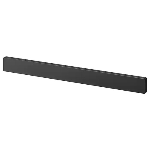 IKEA FINTORP Magnetic knife rack, black, 38x4 cm