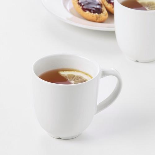 IKEA VARDAGEN Mug, off-white, 30 cl
