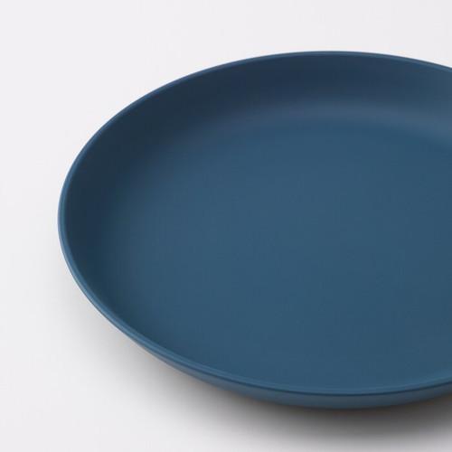 IKEA TALRIKA Side plate, dark blue, 19 cm