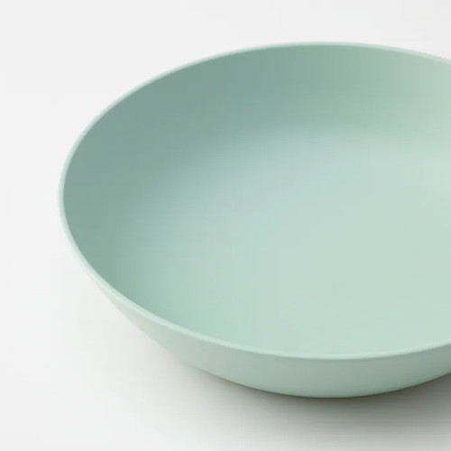 IKEA TALRIKA Deep plate, light green, 20 cm
