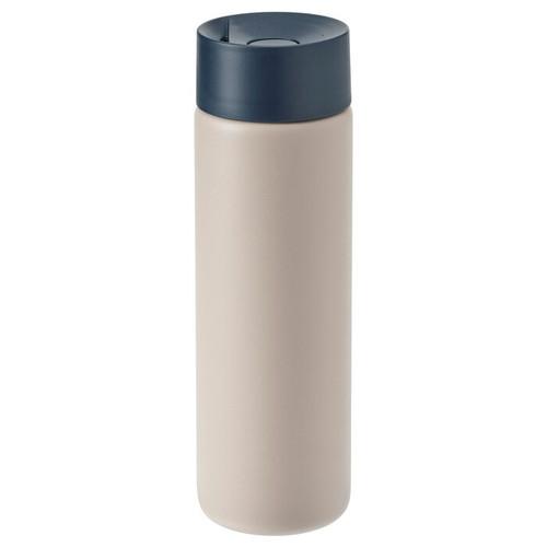 IKEA UNDERSÖKA Insulated travel mug, beige, 0.4 l