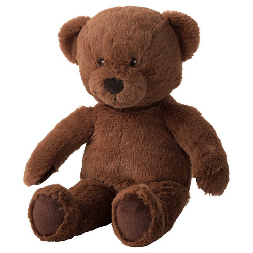 IKEA BRUNBJÖRN Soft toy, bear
