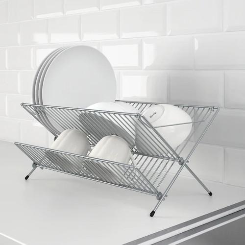 IKEA KVOT Dish drainer, galvanised